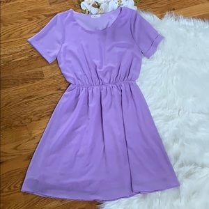 Everly lavender dress